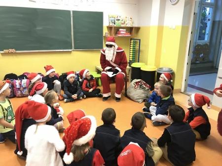 Mikołaj w klasie IB