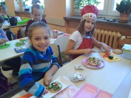 Lekcje kulinarne klasy IIE