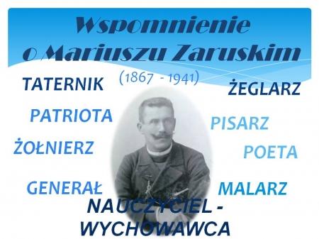 Wspomnienie o Mariuszu Zaruskim