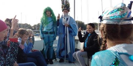 Chrzest morski klas IV