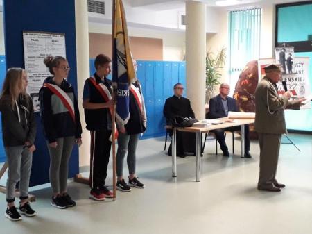 Spotkanie z kpt. Jerzym Widejko ps. Jureczek
