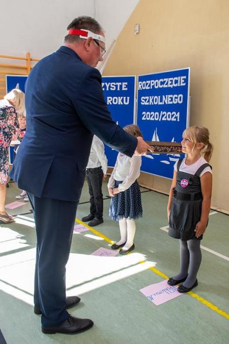 Uroczystość pasowania na ucznia szkoły i żeglarza