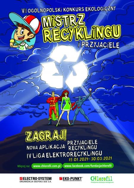 VII Ogólnopolski Konkurs Edukacji Ekologicznej dla dzieci - Mistrz Recyklingu i