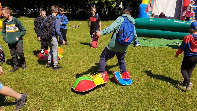 Dzień Dziecka - Dzień Sportu - klasy szóste